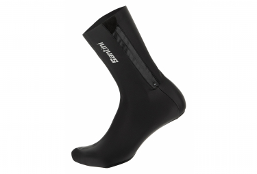 Santini Vega Shoe Covers Black