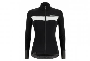 Santini Vega H2O Women Water-Repellent Jacket Black