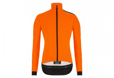 Santini Vega Multi Thermal Waterproof Windbreaker Jacket Orange