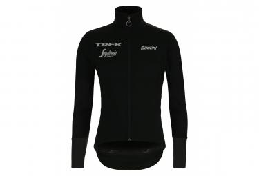 Veste Thermique Imperméable Coupe-Vent Santini Vega Xtreme Trek-Segafredo 2019 Noir