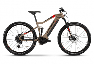 Haibike SDuro FullNine 4.0 Full Suspension MTB Sram SX Eagle 12S 500 Wh 29 '' Plus Beige 2020