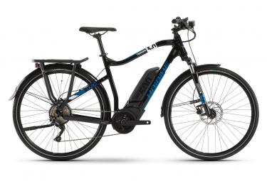 VTC Électrique Haibike SDuro Trekking 3.0 Shimano Deore 10V 500 Noir / Bleu 2020