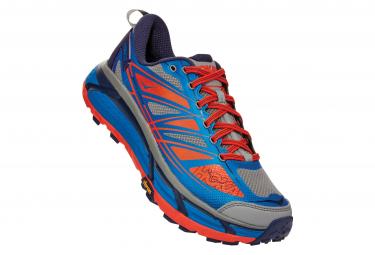 Zapatillas Hoka One One Mafate Speed 2 para Hombre Azul / Naranja