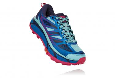 Zapatillas Hoka One One Mafate Speed 2 para Mujer Azul / Rosa