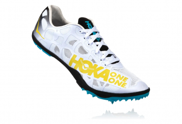 Hoka Evo Rocket LD White Yellow Blue Men
