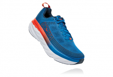 Hoka Bondi 6 Blue Orange Men
