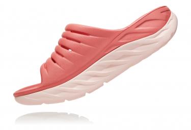 Hoka Ora Recovery Slide 2 Rose Femme