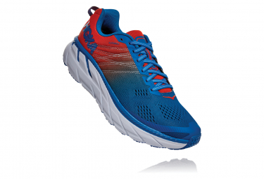 Chaussures de Running Hoka One One Clifton 6 Orange / Bleu / Orange
