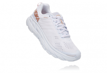 Hoka Clifton 6 White Pink Women