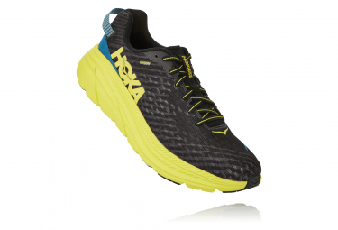 Hoka Rincon Black Yellow Men