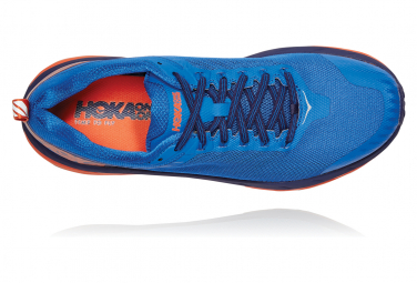 Chaussures de Trail Hoka One One Challenger ATR 5 Bleu / Orange