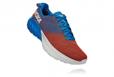 Zapatillas Hoka One One Mach 3 para Hombre Rojo / Azul