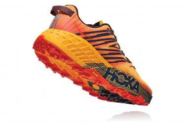 Scarpe da Running Hoka Speedgoat 4 Giallo Arancione da Uomo