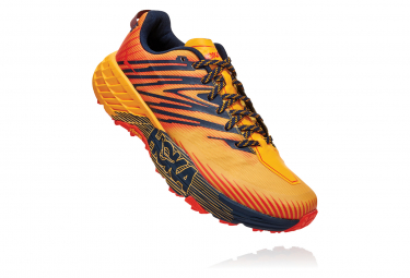 Chaussures de Trail Hoka One One Speedgoat 4 Orange / Jaune