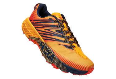 Hoka Speedgoat 4 Gelb Orange Herren