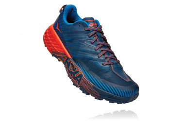 Hoka Speedgoat 4 Blau Orange Herren