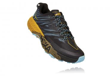 Chaussures de Trail Femme Hoka One One Speedgoat 4 Noir / Bleu / Jaune