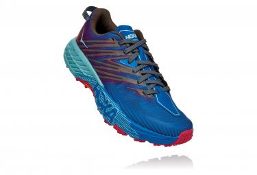 Zapatillas Hoka One One Speedgoat 4 para Mujer Azul / Azul / Rojo