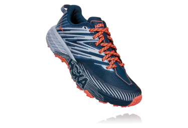 Hoka Speedgoat 4 Blue Orange Frauen