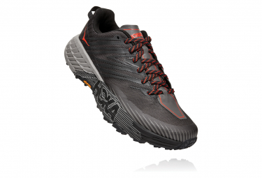 Hoka Speedgoat 4 LARGE EE Gray Black Men