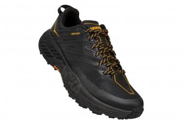 Chaussures de Trail Hoka One One Speedgoat 4 GTX Noir / Gris