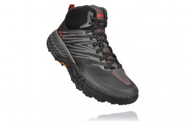 Zapatillas Hoka One One Speedgoat Mid 2 GTX para Hombre Negro / Gris
