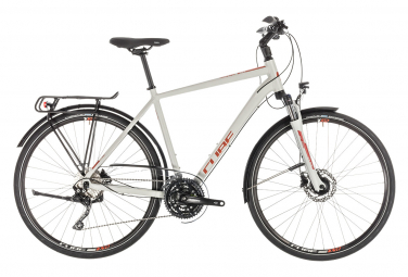 Cube Touring EXC Hybrid Bike Gris / Orange