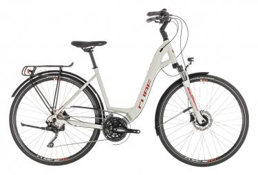Cube Touring EXC Womens Hybrid Bike Gris / Orange