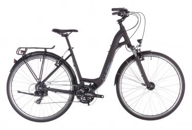 Cube Touring Bike Touring Shimano 8s Black / Blue 2019