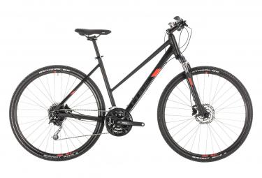 Bicicleta Cicloturística Mujer Cube Nature Pro  Noir / Orange