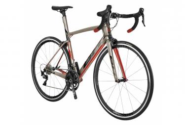 Vélo de Route BH G7 Pro 5.0 Shimano Ultegra 11V 2020 Gris / Rouge
