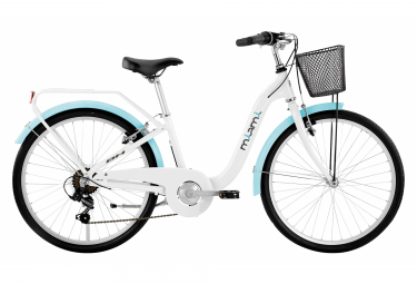 BH Miami 24 Kids Bike N.C. Blanc / Bleu