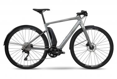 Bicicleta Ciudad Eléctrica BMC Alpenchallenge AMP City One 700 Gris