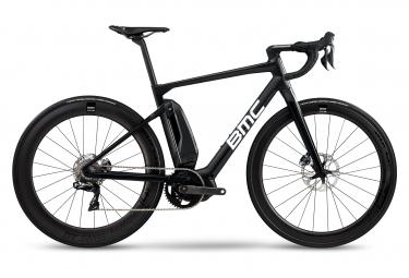Bicicleta Carretera Eléctrica BMC Alpenchallenge AMP ROAD LTD Shimano Ultegra Di2 Blanco / Negro 2020