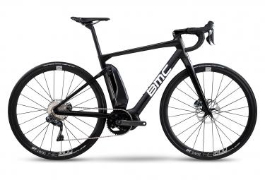 Vélo de Route Électrique BMC Alpenchallenge AMP ROAD ONE Shimano Ultegra Di2 Noir / Blanc 2020
