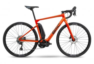 Vélo de Route Électrique BMC Alpenchallenge AMP ROAD TWO Shimano GRX 800 Orange 2020