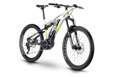 R Raymon Full Suspension Electric Bike FullRay E-Nine 5.0 Shimano Deore 10s Grey / Black 2020
