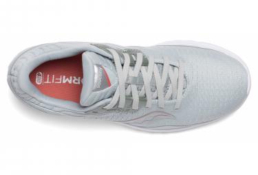 Chaussures de Running Femme Saucony Kinvara 11 Gris / Blanc