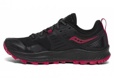 Chaussures de Trail Femme Saucony Peregrine 10 Noir / Rose