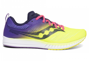 Saucony Fastwitch 9 Yellow Violet Women