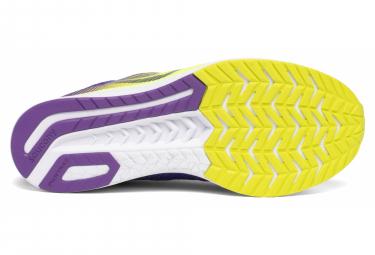 Chaussures de Running Saucony Fastwitch 9 Jaune Violet Femme