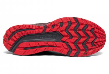 Chaussures de Trail Saucony Guide 13 Noir / Rouge