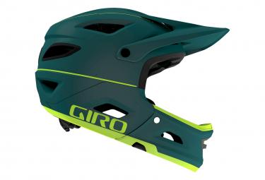Casque avec Mentonnière Amovible Giro Switchblade Mips Vert Foncé