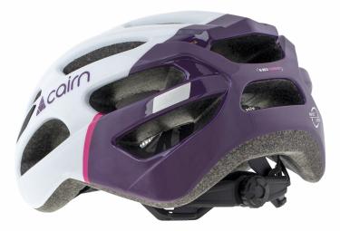 Casque Cairn Active PRISM Blanc Violet