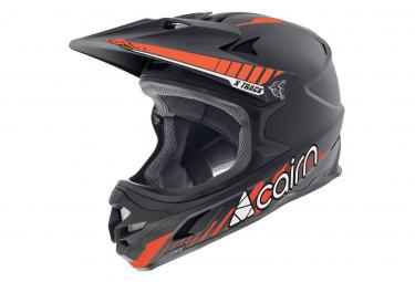 Casco Cairn Track Pro Negro Naranja M  55 58 Cm