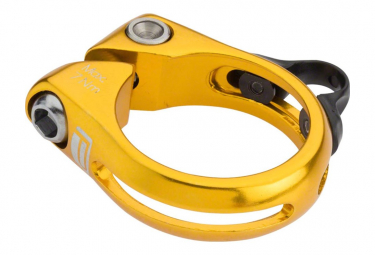 Collier de serrage à vis pour tige de selle téléscopique Gold 34,9 mm