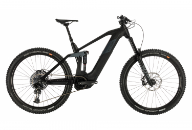 Cube Full Suspension Electric MTB Stereo Hybrid 160 HPC SL 625 Sram NX / SX Eagle 12s Carbon / Grey 2020