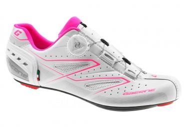 Pair of Women Road Shoes GAERNE G.TORNADO White 2019