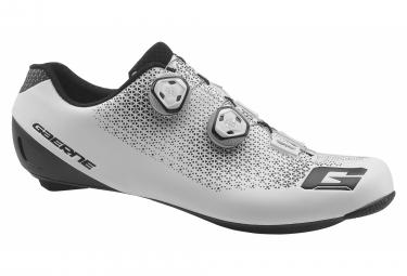 Paire de Chaussures de Route GAERNE G.CHRONO Carbon Blanc 2019