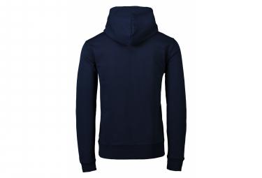 Sweat à Capuche Poc Hood Bleu Navy